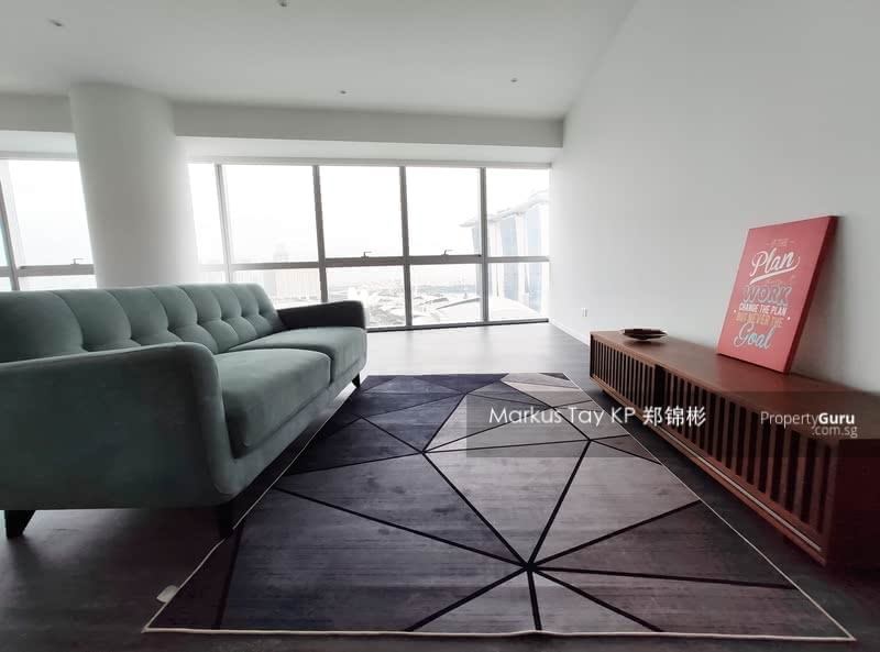 Marina Bay Residences | Living Room
