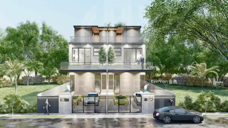 Brand New/Lift/Swimming Pool/Hilltop with Great City View! 6 Bedrooms/High Ceiling/Roof Terrace #131127895