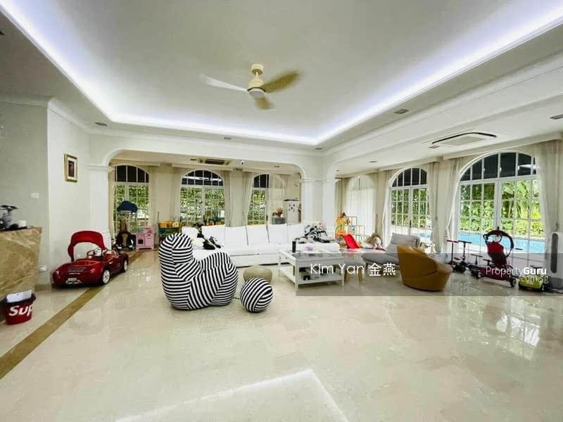 Rare Freehold GCB with Good Move-in condition, Swimming Pool and Lush Greenery at Elevated Ground #130065051