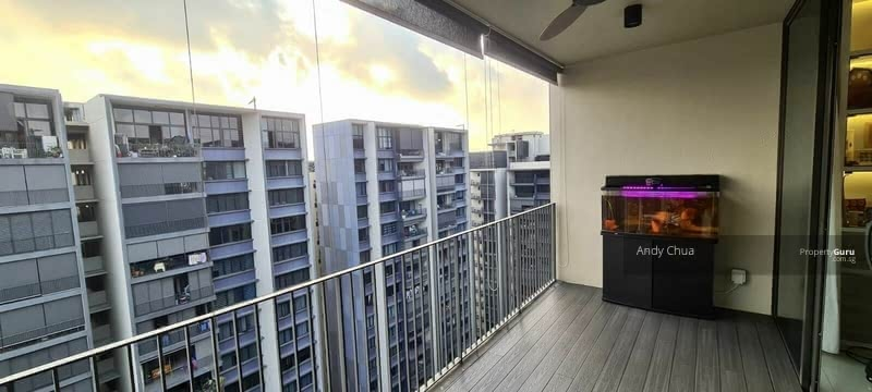 Living balcony view