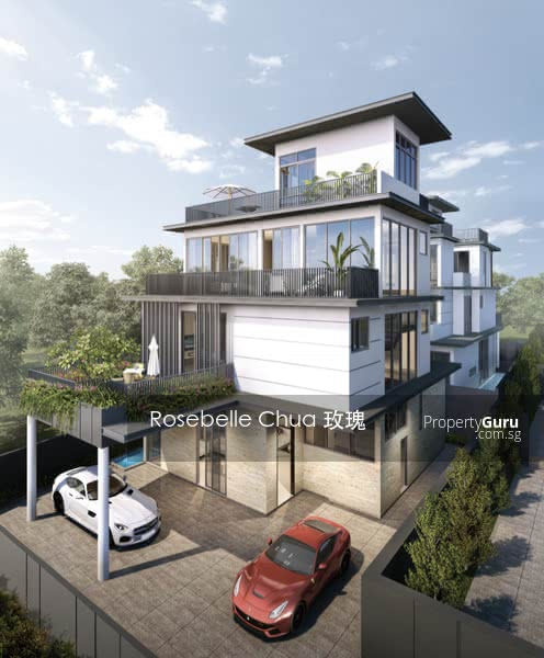 For Sale - D19 Brand New 3. 5 Storey Bungalow @ Near Kovan MRT Flower Road