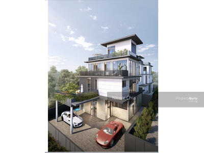 For Sale - ⭐️Brand new Kovan detached house @ Flower Road ⭐️ Pool & lift