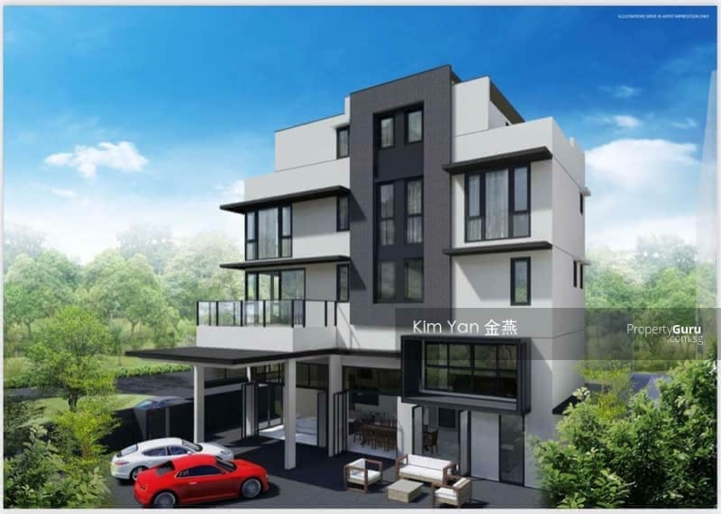 Brand New & Freehold Bungalow with Lift & Basement, 6 Bedrooms Ensuite, Kovan MRT &Heartland Mall #130358045