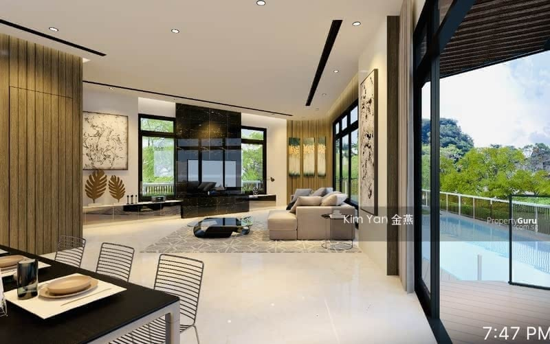 For Sale - Brand New & Luxury Freehold Semi-D with Lift, Swimming Pool and Basement, Walk to Bishan MRT