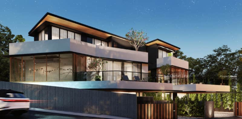 Luxurious Brand New SemiD within 1Km to ACS(Barker) & CHIJ(TP), Home Lift, Swimming Pool @ Dyson #130362689