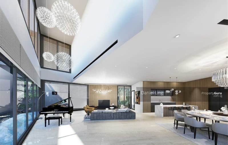 Luxurious Brand New Bungalow within 1Km to ACS(P) & CHIJ(TP), Lift, Pool & EV Charging Point @ Dyson #130362815