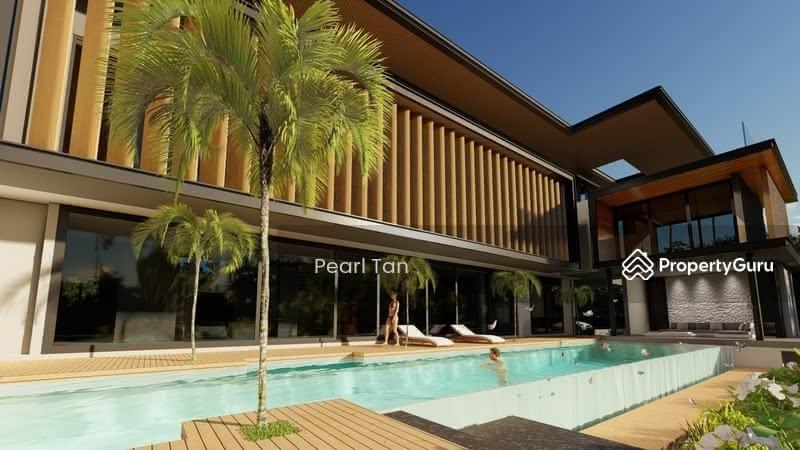 ❤️❤️LIKE NEW MODERN GCB By RENOWNED ARCHITCT, POOL/ BASEMENT, WALK TO BOTANIC MRT 豪华优质洋房 ☎️91890081 #130437541
