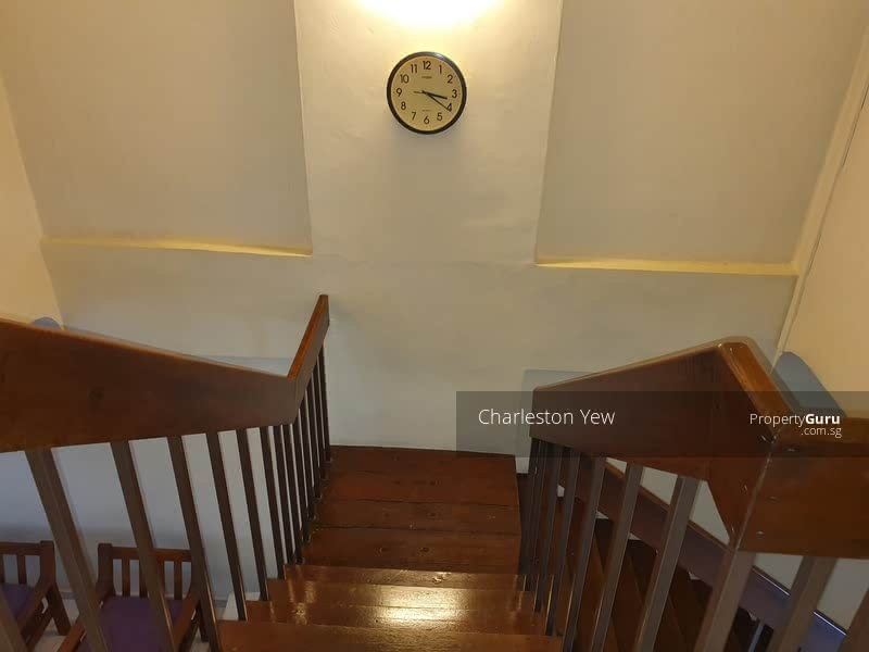 Stairway leading to your private room