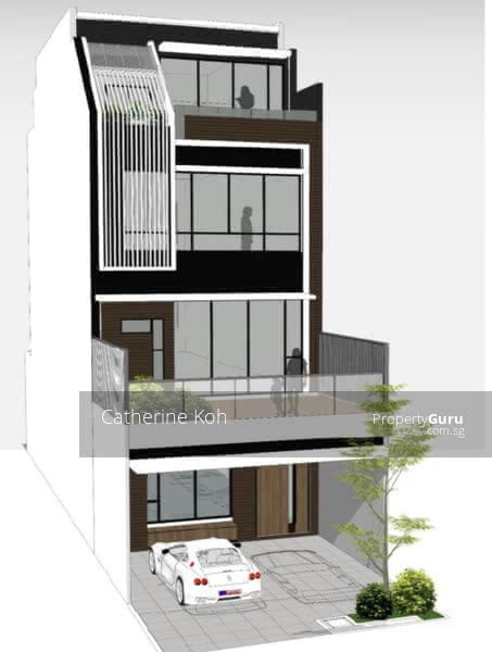 For Sale - ⭐️⭐️⭐️Landed7772 @ Kovan Estate Rare Brand New Terrace Mins Walk to Kovan MRT