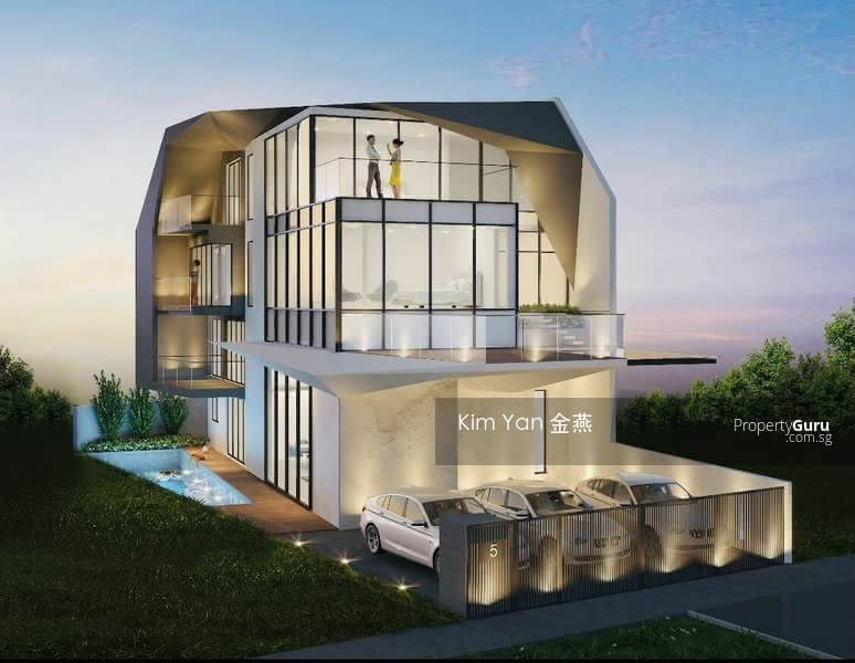 Brand New & Luxury Freehold Semi-D with Lift and Swimming Pool, 6 bedrooms ensuite, park 3 cars #130996555