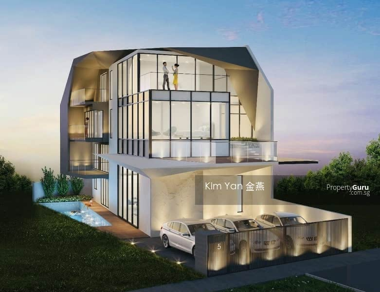 Brand New & Luxury Freehold Semi-D with Lift and Swimming Pool, 6 bedrooms ensuite, park 3 cars #130996557