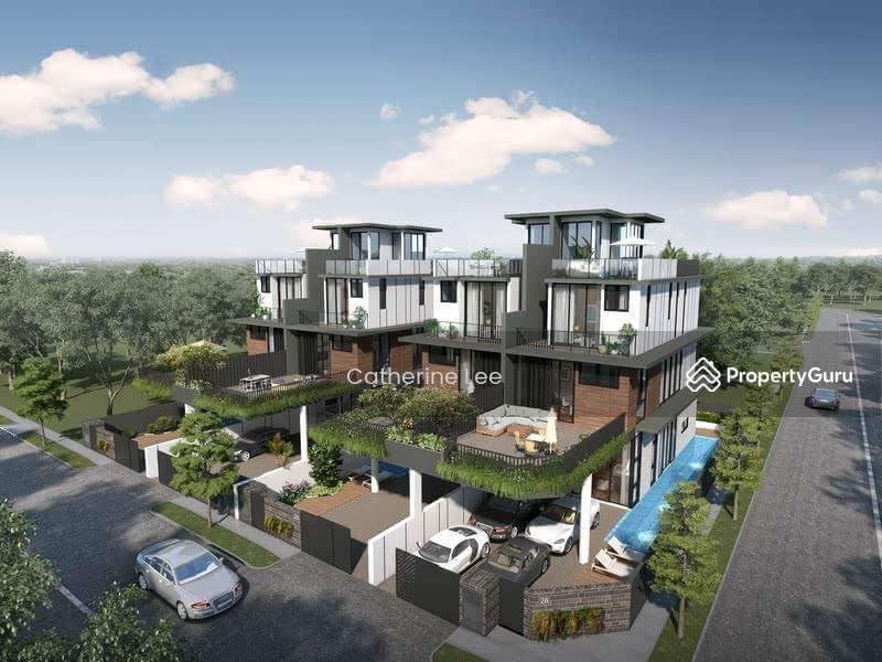 For Sale - Brand New Luxury Semi-D near Bayshore MRT Riviera Drive Parbury Ave