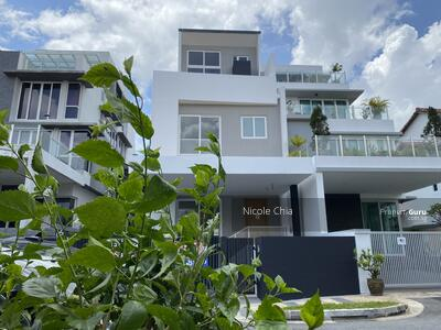 For Sale - ⭐️ Brand new Kembangan freehold semi detached house with lift⭐️ Near MRT