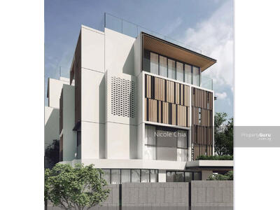 For Sale - ⭐️ Brand new Yuk Tong Ave freehold SD ⭐️with pool and lift 5 mins walk to Beauty World MRT!