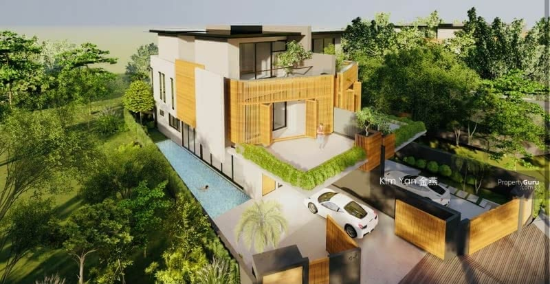 For Sale - Brand New with Lift & Pool at prestigious address, quiet place yet walk to Sixth Ave MRT/ Hwa Chong
