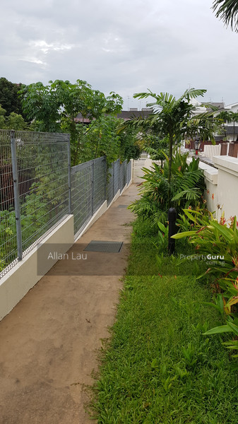 Wonderful Side Gate For Residents Who Want To Walk Out To The MRT. Nice Lap Pool. Treasure  Gardens #95819406