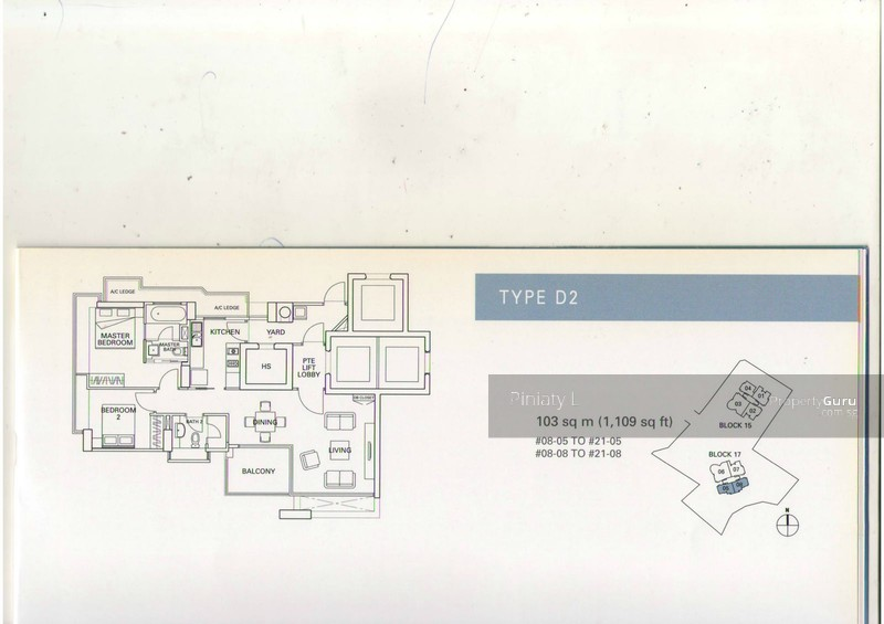 Residences @ Evelyn, 13 Evelyn Road, 2 Bedrooms, 1200 Sqft ...