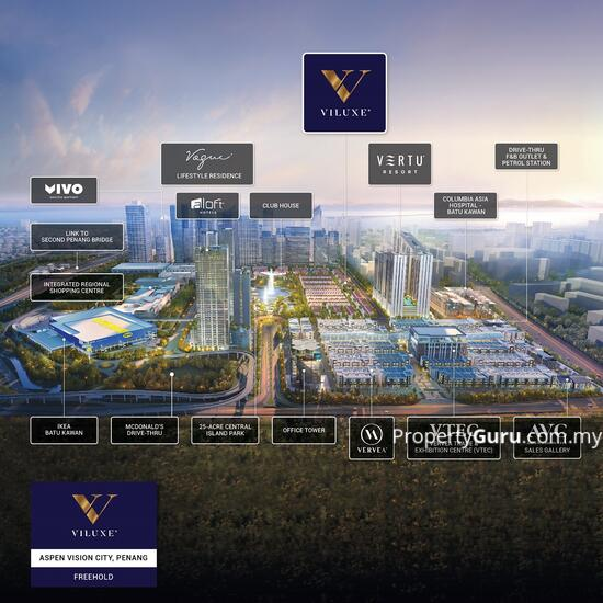 For Sale - Viluxe at Aspen Vision City