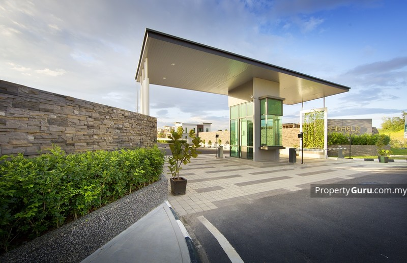 Fairfield Villas Entrance - Actual