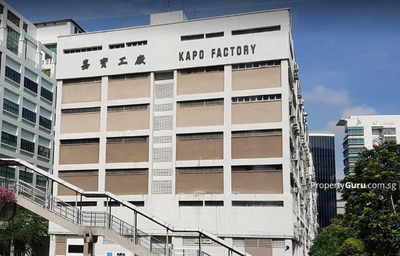 Kapo Factory Building #124233613
