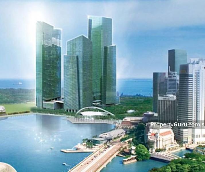 Marina Bay Residences, 18 Marina Boulevard, 1 Bedroom, 732